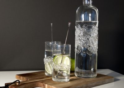 Drizzle vandglas og karaffel