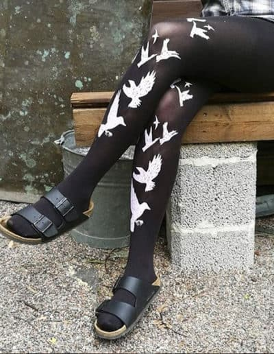 Naakat & muut black tights
