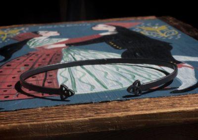 Triangle bangle bracelet